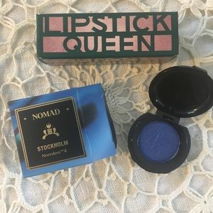 Lipstick Queen and Nomad Stockholm eyeshadow